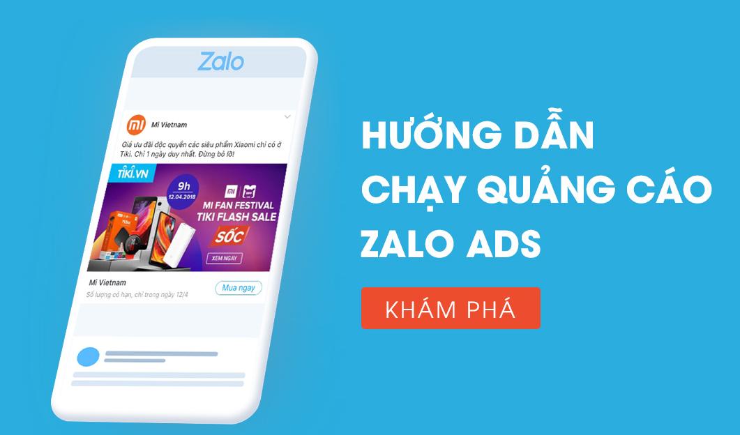 Quảng cáo Zalo Ads Pro