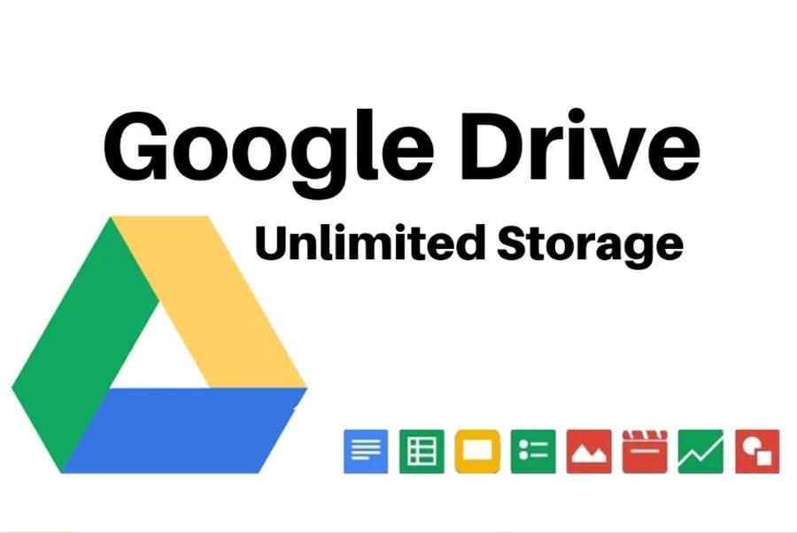 Tài khoản Google Drive không giới hạn (Vĩnh Viễn)