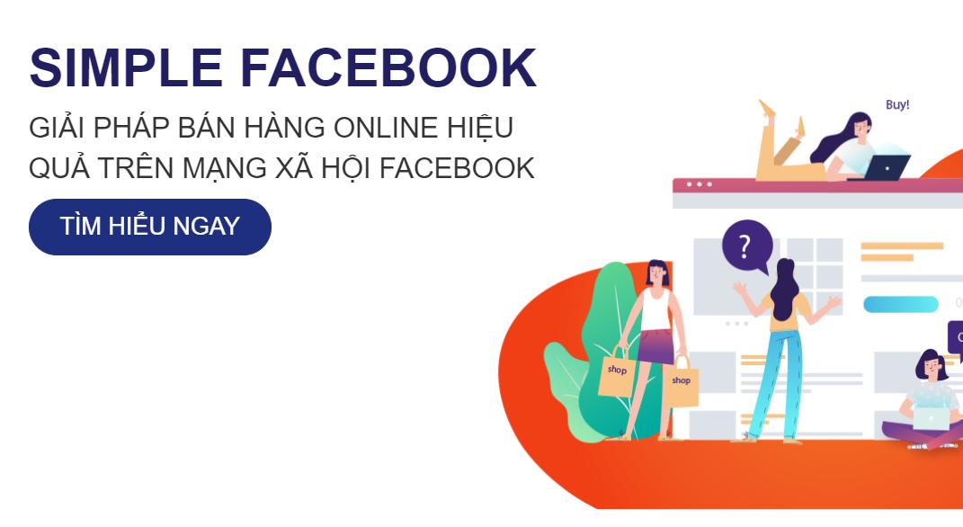 Phần mềm Simple Facebook - Phần mềm TOP1 bán hàng trên Facebook cá nhân