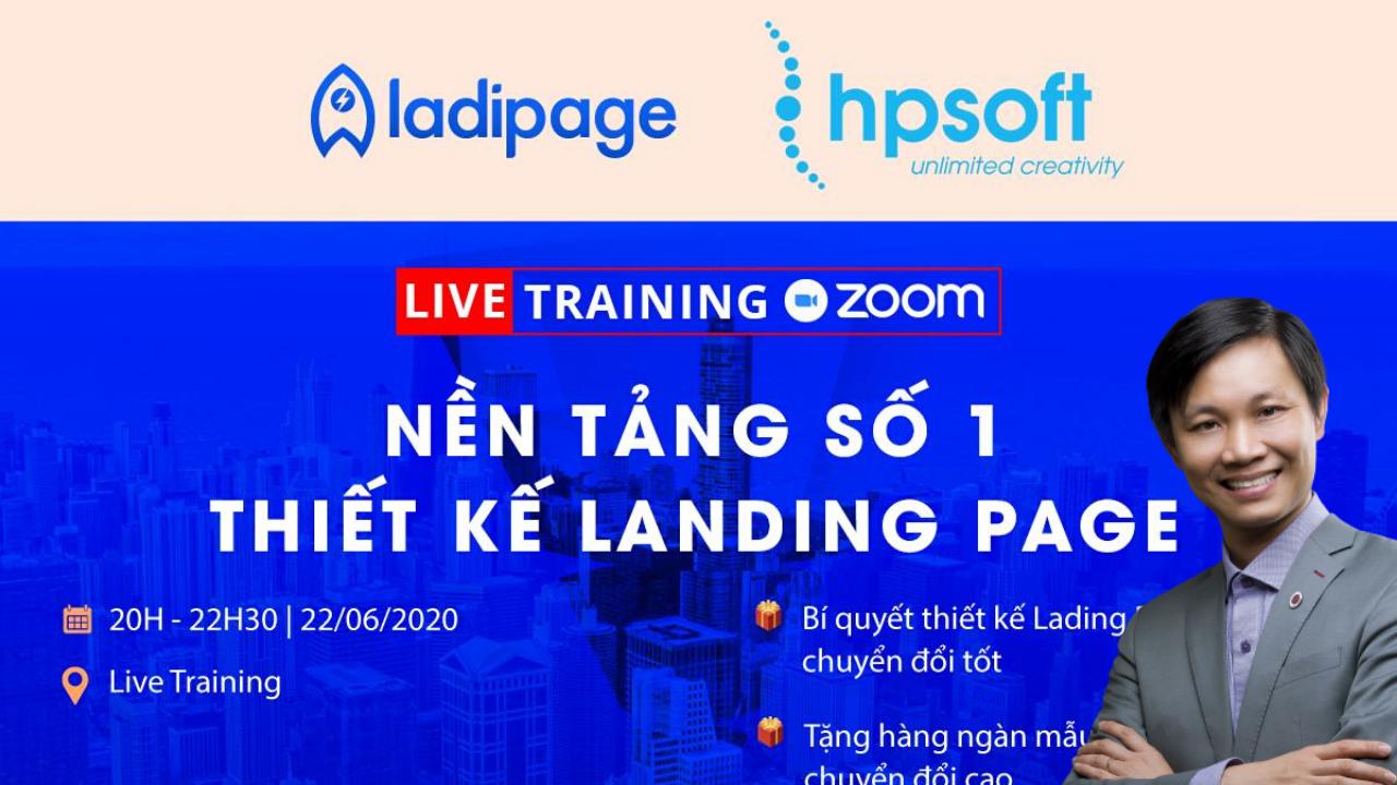 Tài khoản Ladipage PRO 1 Năm (tặng thêm 6 tháng sử dụng)